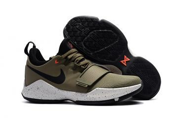 31c5f28b2e9f9a Nike Zoom PG 1 EP Paul Jeorge khaki Women Basketball Shoes