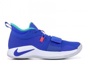 16632bef315 Nike PG 2.5 Racer Blue White Sneakers BQ8452-401