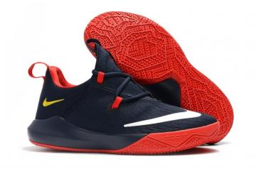 04a81032bf21 Nike Zoom Shift 2 EP DK Blue Red Gold Small Swoosh AR0459-407