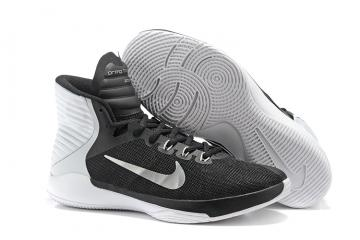 best cheap 971bc f2e73 Nike Prime Hype DF 2016 EP Black White Mens Basketball Shoes 844788