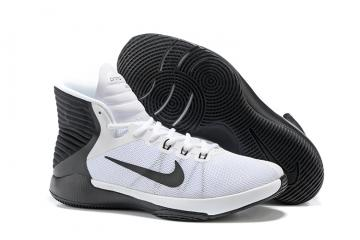 best sneakers 1f8f8 54eb9 Nike Prime Hype DF 2016 EP White Black Mens Basketball Shoes Sneakers 844788 -100