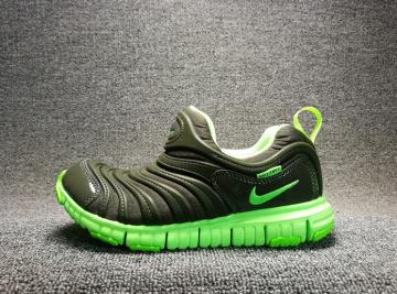 a4b442ad0634 Nike Dynamo PS Cargo Cari Bright Green Polk Dot Preschool Shoes 343738-303