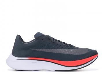 e445bb42c365 Nike Zoom Vaporfly 4% Blue Fox Blue University Fox Bright Black Crimson Red  880847-400