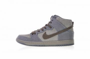 separation shoes 3cd0e 6bf8f Nike SB Dunk High Premium Tauntaun Medium Cool Grey Smoke 313171-020