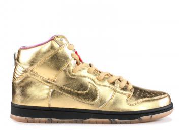 32bb62da9ebe Nike SB Dunk High QS Metallic Gold Humidity Trumpet AV4168-776