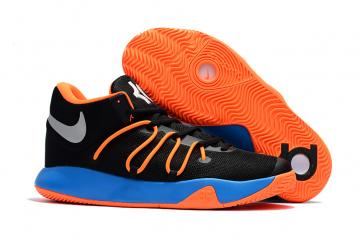 buy popular 2177a 93426 Nike Zoom KD Trey VI 6 black blue orange Men Basketball Shoes