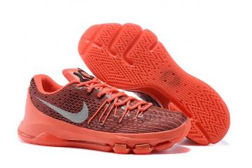 1ed5463ea7dc Nike KD 8 V8 Durant Camaro Crimson White Black Basketball Shoes Red OKC  749375-610