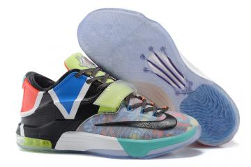 6d9fe6336b1b5a Nike KD 7 VII SE What the KD Kevin Durant Men Basketball Shoes Multi Color  801778-944