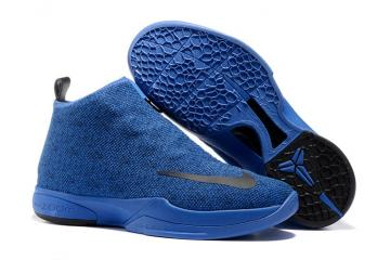 1a7030c48c4d Nike Zoom Kobe Icon Jacquard Men Casual Shoes Cobalt Blue Black 818583