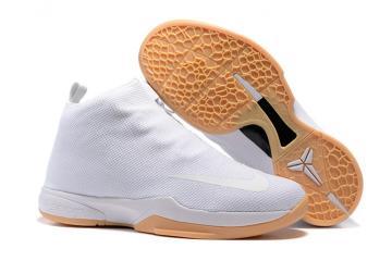 the latest 1ea28 9fdc7 Nike Zoom Kobe Icon Jacquard Men Casual Shoes Pure White 818583