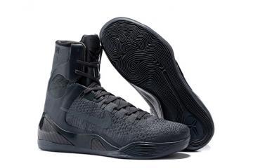 5e69a80021e10f Nike Zoom Kobe 9 IX Elite High Men Basketball Shoes Charcoal Gray 678301