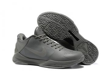 info for 727e4 599fc Nike Zoom Kobe V 5 Low FTB Fade To Black Grey Men Basketball Shoes  869454-006