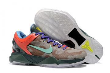 new concept 2cf75 9fb7e Nike Zoom Kobe VII 7 What The Kobe WTK Fade To Black FTB Prelude 488371-200
