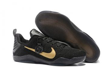 sports shoes 0d3f0 6f70c Nike ID Kobe XI 11 Elite Low FTB Fade to Black Mamba Last Game Limited  Black Gold 869459-001
