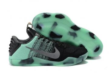 huge discount b941b 11276 Nike Kobe 11 Elite Low All Star Green Glow Men Shoes Flyknit 822521 305