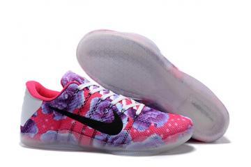 29389019e4e Nike Kobe 11 Elite Low All Star Kay Yow Pink Purple Black Men Basketball  Shoes 822675