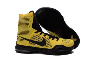 sports shoes 450d2 b99fa Nike Kobe X Elite High Coda Opening Night Tour Yellow Black Men 802762 707