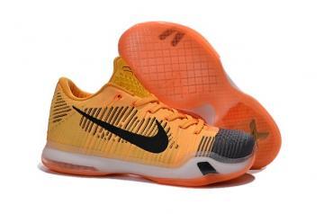 pretty nice 639af e6569 Nike Kobe X Elite Low Chester Rivalry Cheetah Total Orange 747212 818