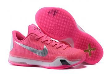 detailed look 27415 e9093 Nike Kobe X 10 Think Pink PE Men Basketball Shoes 745334