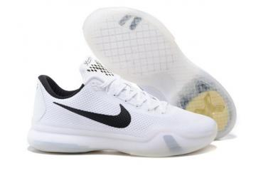 d418380160c Nike Zoom Kobe X 10 Elite Low EP Whiteout ZK10 Men Basketball Shoes 745334  100