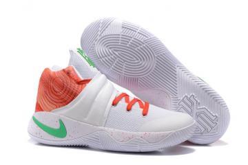 950e8a6aab99 Nike Kyrie 2 Krispy Kreme Ky Rispy Men Basketball Shoes White Orange Green  843253-992