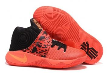wholesale dealer 27e0f 9ac7d Nike Kyrie II 2 Inferno Bright Crimson Atomic Orange Black Tie Dye 819583  680