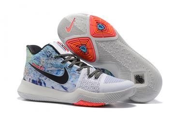 size 40 6a72a a7088 Nike Zoom Kyrie 3 EP Colour White Black Men Shoes