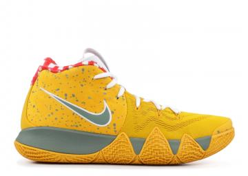 ceab6d537494 Kyrie 4 TV PE 11 Yellow Lobster Green Mineral Yellow Clay AR4599-700
