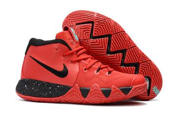 a46dda858ea3 Nike Zoom Kyrie 4 Men Basketball Shoes Red Black
