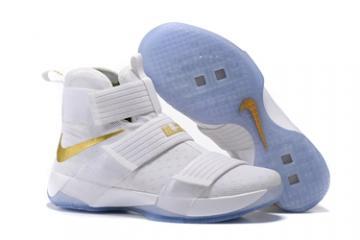6ea020895cd7e Nike Lebron Soldier 10 EP X Men White Gum Basketball Shoes Men 844378-101