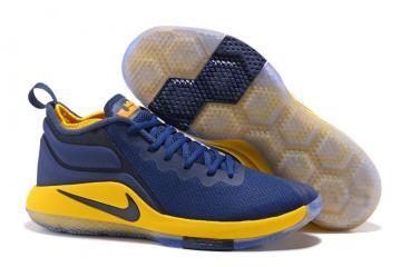 f9a63215623 Nike Zoom Witness II 2 Men Basketball Shoes Royal Blue Yellow