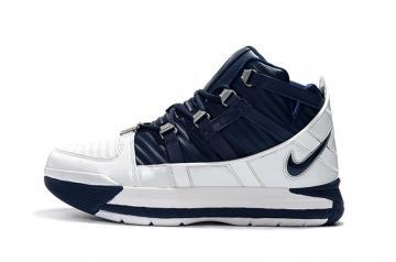 8eb70997960ec8 Nike Zoom LeBron III 3 QS Retro Midnight Navy AO2434-103