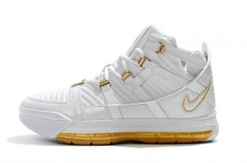 3059bdc39ce0ef Nike Zoom Lebron 3 SuperBron White Gold AO2434-114