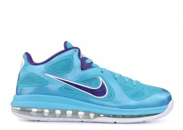 new product 59aec f6f36 Lebron 9 Low Summit Lake Hornets Blue Purple Turquoise White Crt 510811-400
