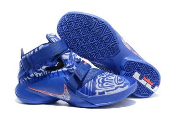 size 40 8fa76 fcaac Nike Zoom Lebron Soldier IX 9 QS LMTD Freegums Game Royal 810803-418