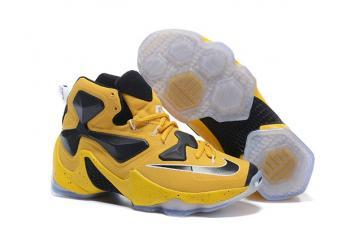 sale retailer 305af 6854a Nike LeBron 13 EP XIII James Basketball Shoes Bumblebee Black Yellow 823301