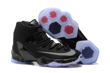 f4c786265ae Nike Lebron XIII Elite Ready To Battle 13 men basketball shoes black silver  831924 001