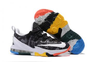 newest collection a603e 9b4cf Nike Zoom Lebron XIII 13 Low Family Foundation James Graffiti Limited Men  Basketball Shoes Sneaker 849783-999