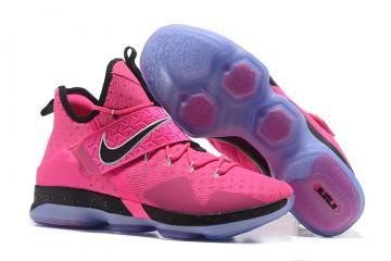 promo code 8e404 44aba Nike Lebron XIV EP 14 Lebron James pink black Men Basketball Shoes  921084-606