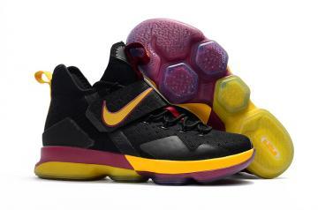 Nike Zoom Lebron XV 15 Basketball Unisex Shoes Deep Blue Yellow ... 3c22dca18