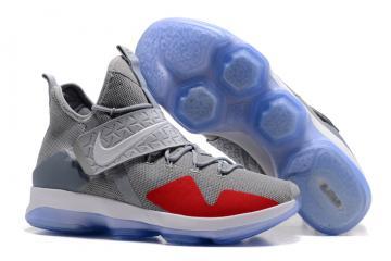 447dbe3ae339 Nike Zoom LeBron XIV 14 grey red Men basketball shoes 852405-016