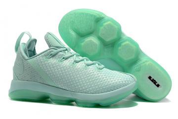 fca6e7010a7 Nike Zoom Lebron XIV 14 Low Men Basketball Shoes Green All878635-300