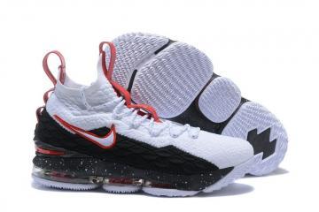 d02ad471827 Nike Zoom Lebron XV 15 EP LBJ15 AZG White Black Red 897648-106