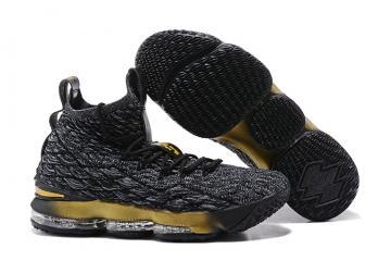458f5b2c63c1 Nike Zoom Lebron XV 15 Men Basketball Shoes Wolf Grey Gold 897648