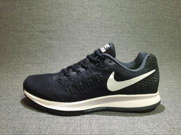 eb00eab54751 Nike Air Zoom Pegasus 33 Running Shoes Black White 831356-001