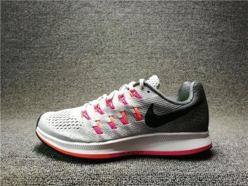 66089370fc6e Nike Air Zoom Pegasus 33 Running Shoes Pink Black White 831356-006