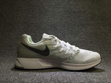 949e4b06373a Nike Air Zoom Pegasus 33 Running Training Shoes Light Green White 831352-100