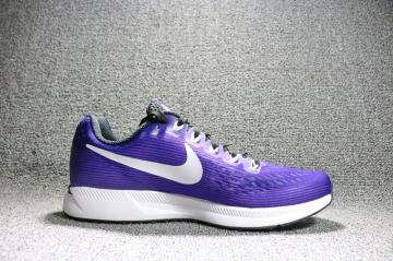 Nike Air Zoom Pegasus 34 EM Mens Purple Black Violet 887009-501 fc293adad