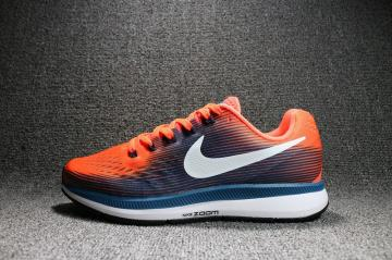Nike Air Zoom Pegasus 34 Running Hyper Orange Black 880555-800 d29703196