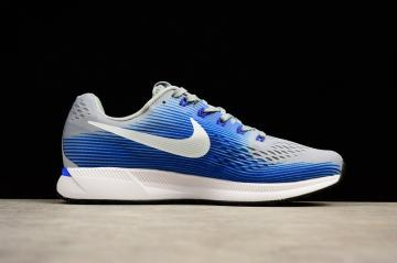 Nike Air Zoom Pegasus 34 Running White Blue Anthracite 880555-007 ce6d1c0e3